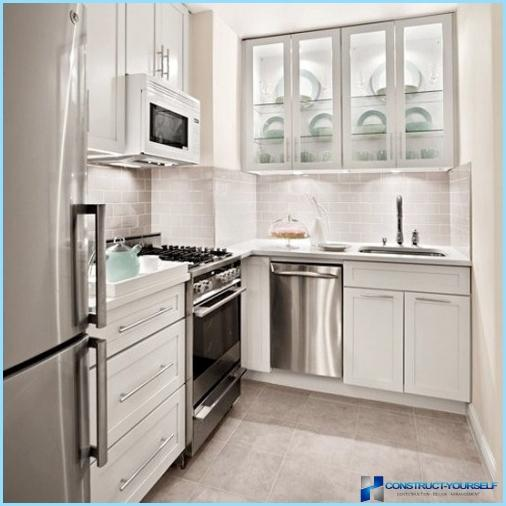 Modern ideas to design small kitchen