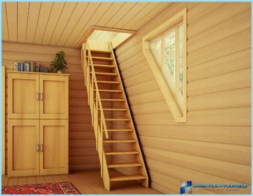 Trapper til sommerhuse og private huse med fotos