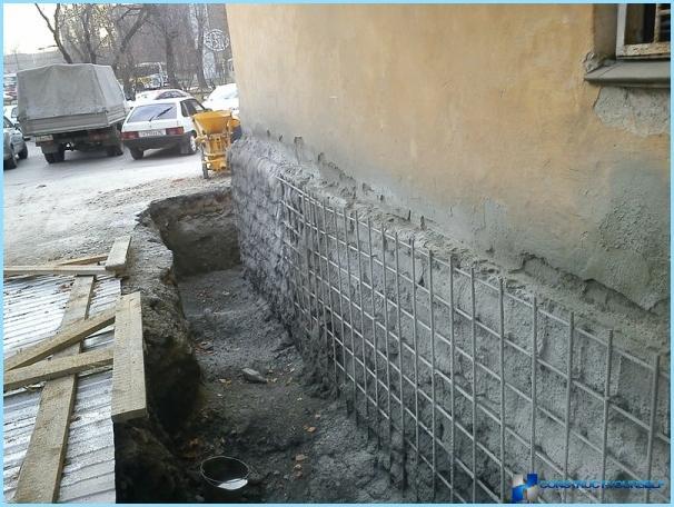Vi styrker fundamentet for det gamle hus