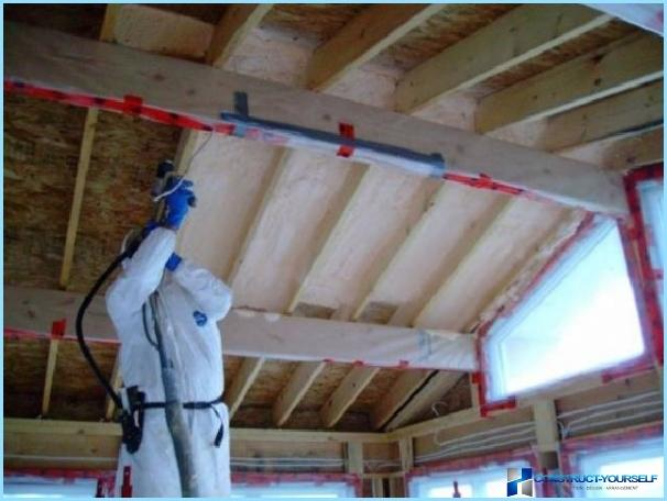 How to insulate attic floor with their hands