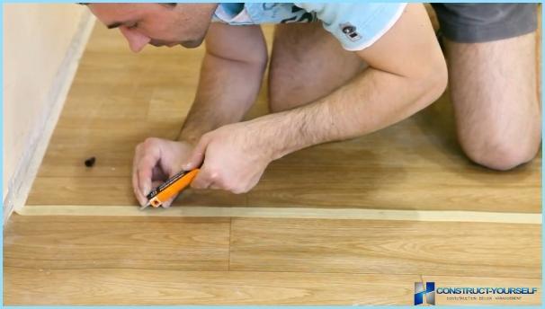 Как да шиете тюл в кухнята със собствените си ръце