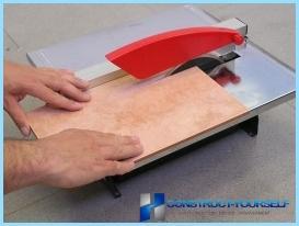 Hoe keramische tegels te snijden