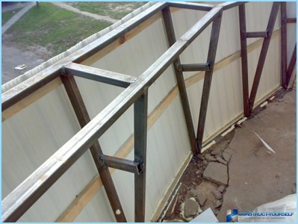 Hvordan glasere en balkong