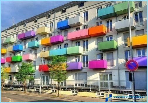 Unterschiede zwischen einem Balkon und einer Loggia