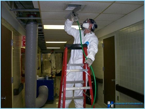 Desinfección de ventilación