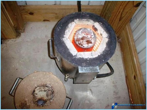 Gaskomfur til et bad