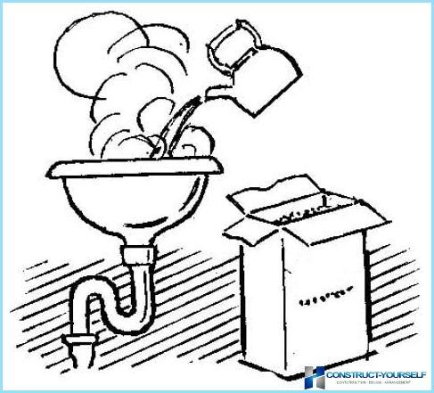 Cum și cum să curățați conducta de canalizare din grăsime?
