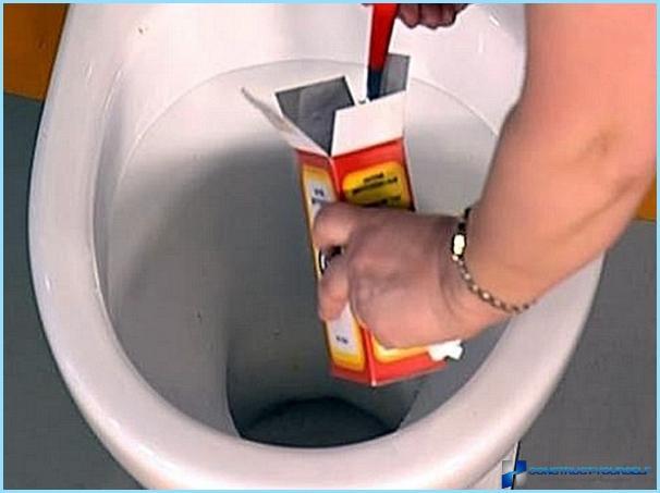 Kā novērst aizsprostojumu tualetē