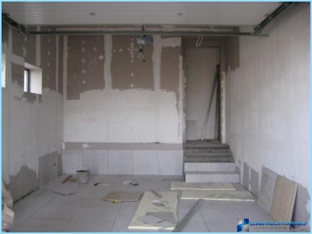 Hvordan bygge en garasje fra skumblokker