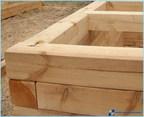 Bath of laminated veneer lumber with your own hands