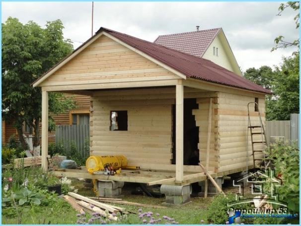 Saunu, bēniņu, lapenes, terases projekti