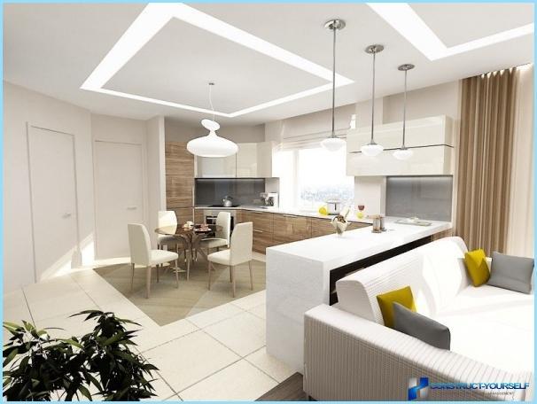 Virtuves un viesistabas projekti