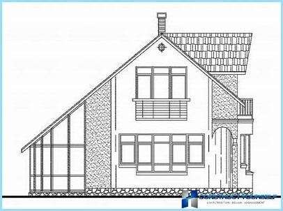 民家の屋根裏屋根のプロジェクト