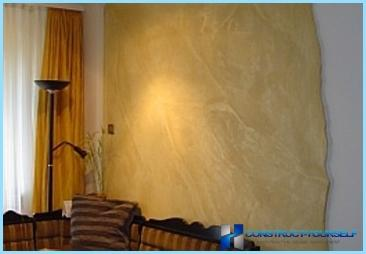 Intonaco decorativo marmorino
