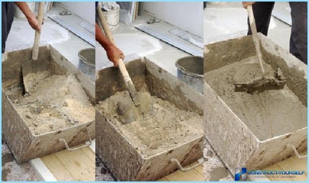 Pareti in stucco con malta di cemento e sabbia