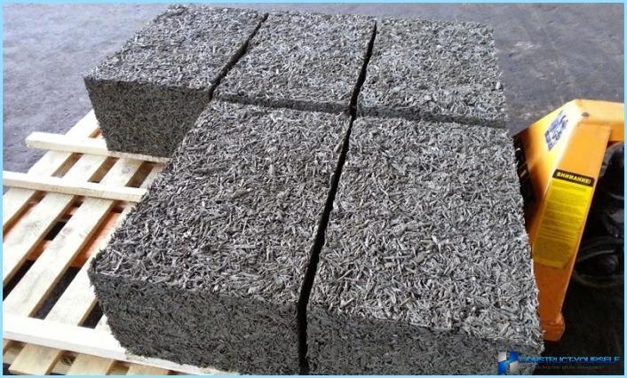 Caratteristiche tecniche dei blocchi di cemento in legno