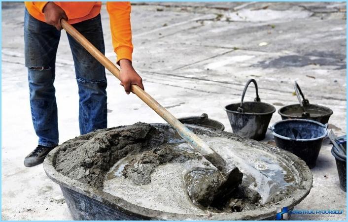 Kā sagatavot cementa javu mūrēšanai