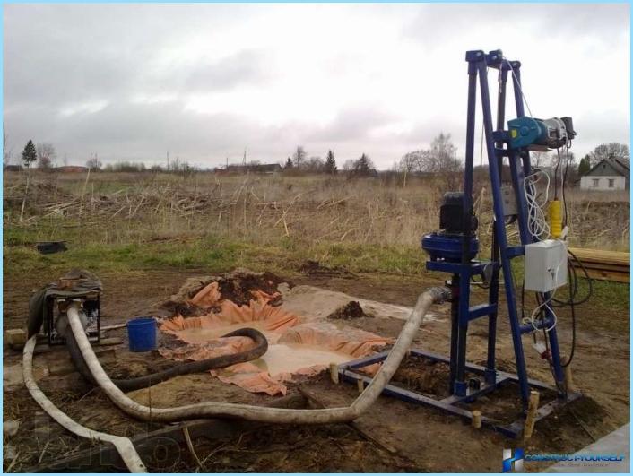 Piattaforma di produzione del pozzo d'acqua
