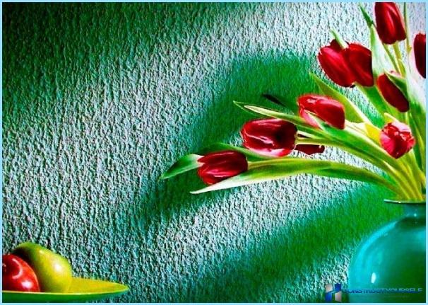 DIY teksturēta sienas krāsa