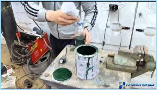 Vernice metallica resistente al calore fai-da-te