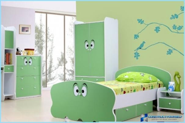 Tipi di vernici per la camera dei bambini: magnetici, dulux, tex, pro