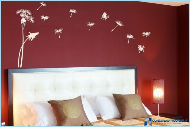 Pittura murale decorativa fai da te + foto, video