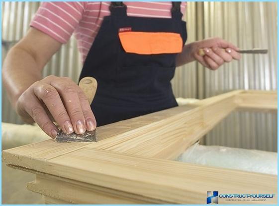 Vernice per finestre in legno