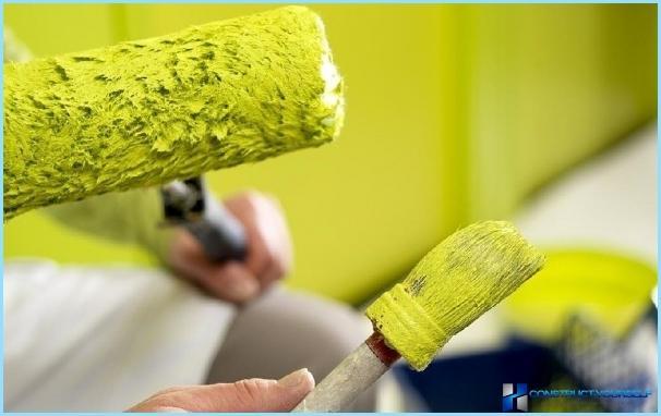 Как да изберем най-добрата боя за стени за нанасяне със собствените си ръце