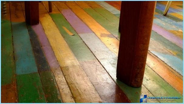 Grīdas krāsa bez smaržas ātri žūstoša