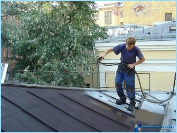 Bitumena mastika jumta hidroizolācijai ar savām rokām