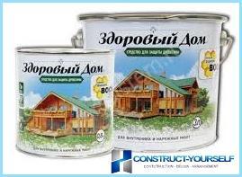 Protezione delle strutture in legno da decomposizione, umidità, fuoco