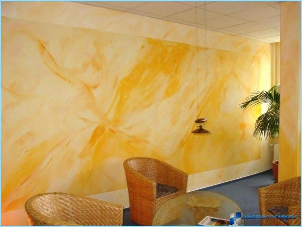 The silicate paint for internal and external works: composition, flow rate per 1 m2