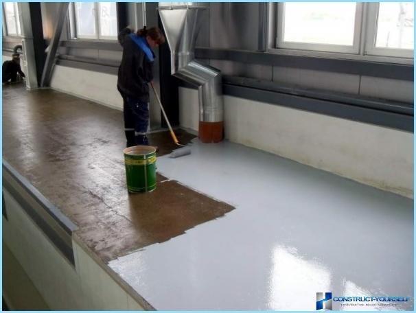Quale vernice è meglio per dipingere un pavimento di cemento