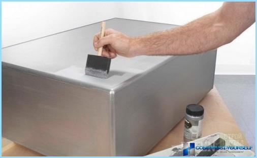 Sølvmaling: fordele og ulemper