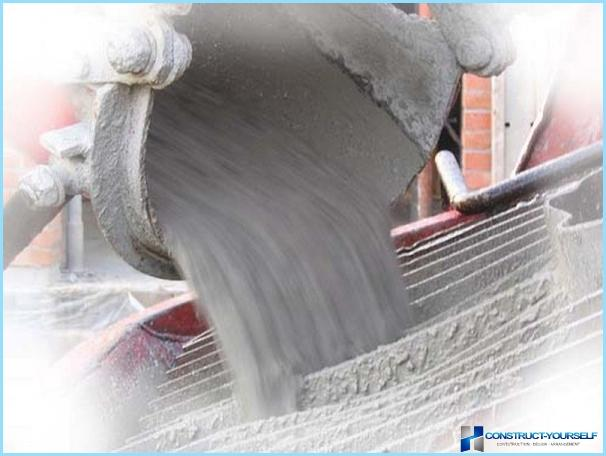 Hidrauliskā betona īpašības