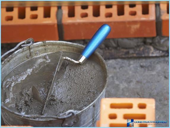 Приготування бетону вручну: пропорції, таблиця
