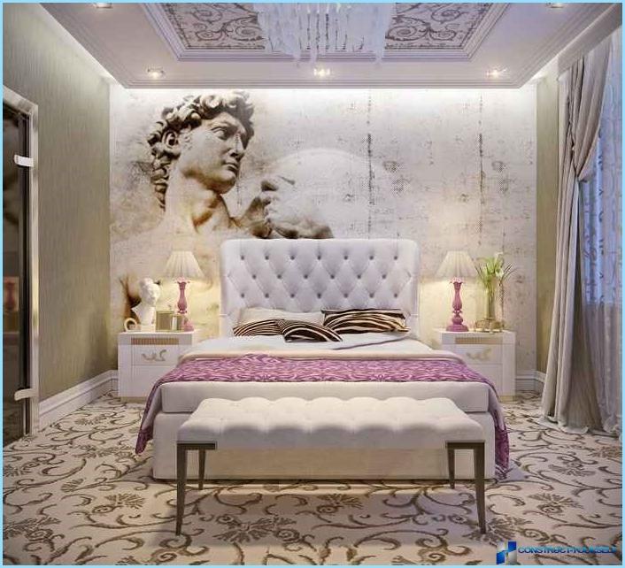 Design contemporaneo della camera da letto