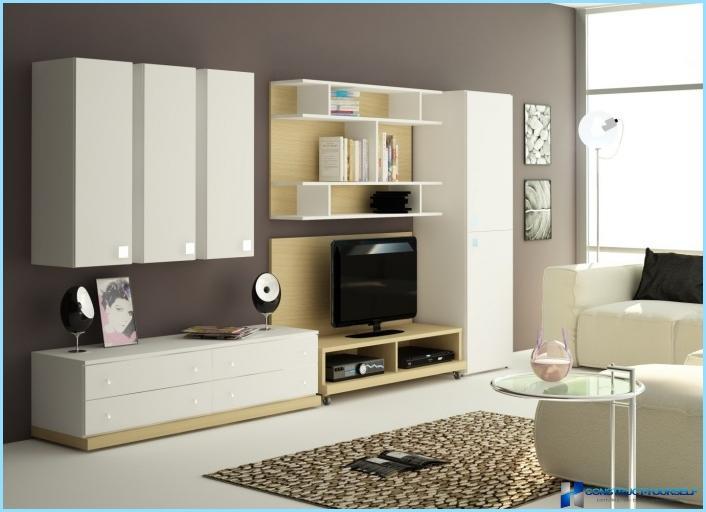 Mēbeles guļamistabai mūsdienīgā stilā + foto