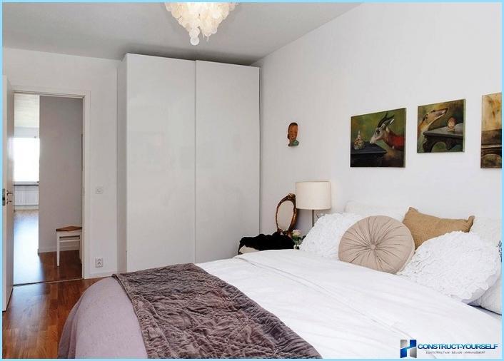 Moderna stila maza guļamistaba
