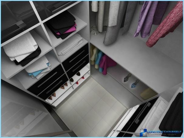 Kā aprīkot ģērbtuvi dzīvoklī