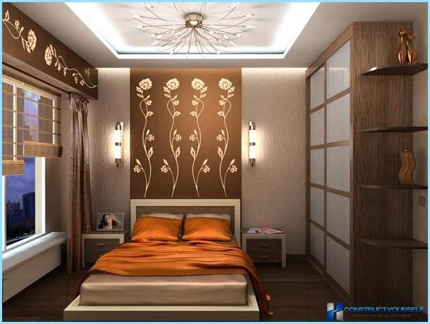 Дизайн спальні в маленькій квартирі