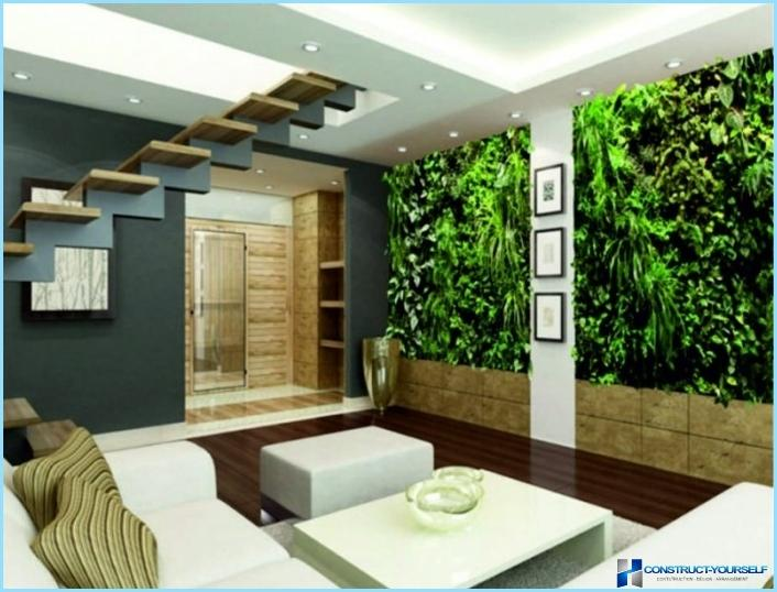 Vertikāla dārzkopība dzīvokļa interjerā