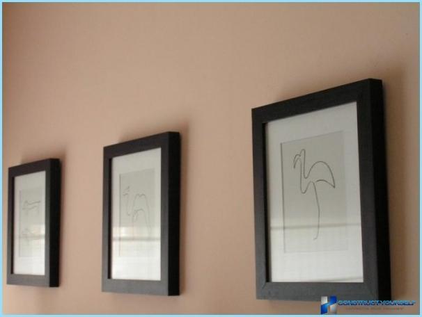 Come appendere un'immagine modulare al muro