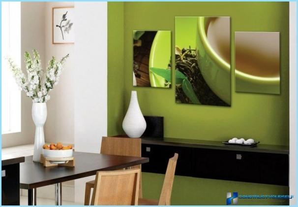 Modulāras gleznas interjeram
