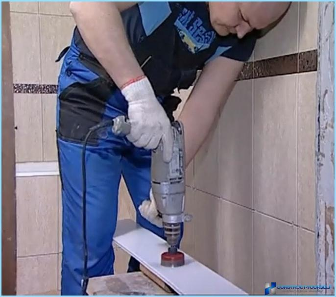 How to install PVC panels in the bathroom