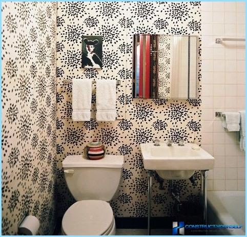 What Wallpaper for the toilet to choose
