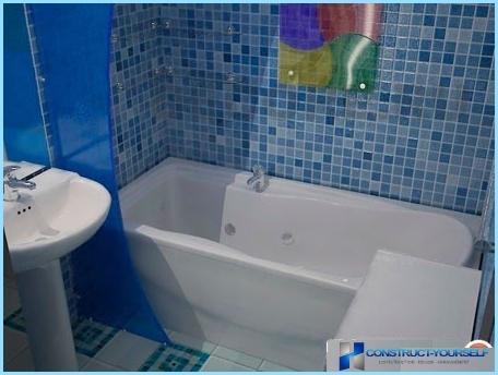 ซ่อมแซมห้องน้ำขนาดเล็กที่ทันสมัย