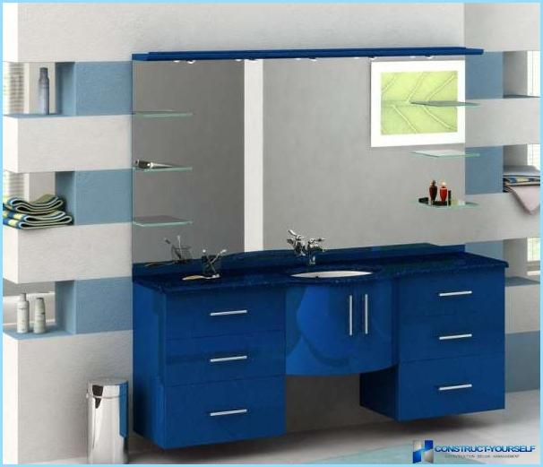How to choose furniture for the bathroom