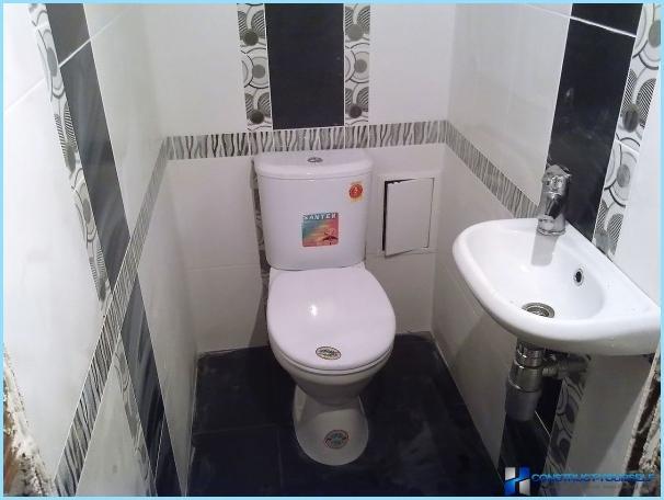 Opzioni per la finitura della toilette con piastrelle