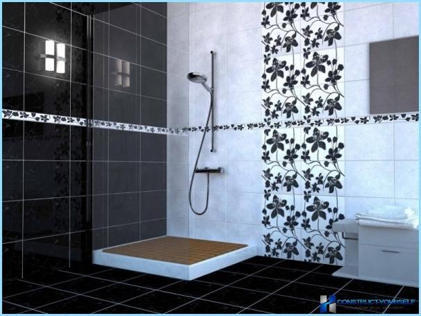 Piastrella russa per il bagno
